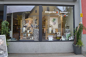 Schaufenster links
