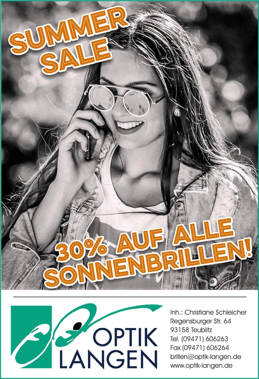 September Angebot: Sonnenbrillen